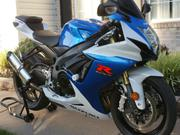 2013 Suzuki GSX-R 750 (Blue on white)