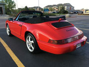 1991 Porsche 911Carrera 4 Convertible 2-Door