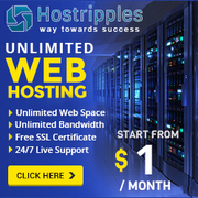 Get $1 Unlimited shared hosting in USA
